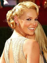 Katherine Heigl vintage hair