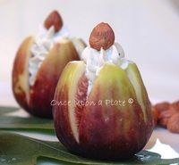 Figs Stuffed with Creamy Blue Cheese and Toasted Hazelnuts