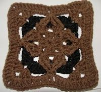 Diamond Granny Square Variation C
