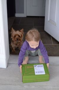 KIWI CRATE They will deliver a box to your child each month that's designed around a certain theme (think Dinosaurs, Garden, Superheroes, Space.) In each box are 2-3 carefully designed and kid-tested projects, which cover a range of developm...