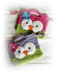 Crocheted Purse, I really want this for my Daughter!