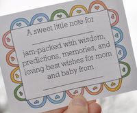 Grace is Overrated: Baby Shower Printable