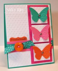 i STAMP by Nancy Riley: BEAUTIFUL WINGS for TWO CHALLENGES