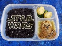 beneficial bento: Star Wars Bento - May the 4th Be With You!