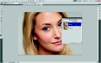 high pass filter for skin smoothing and then again for sharpening