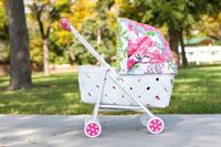 """Upcycled """"vintage"""" baby buggy Tutorial"""
