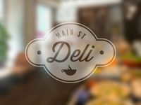 Main St Deli by Damian Kidd