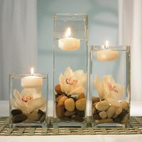 Cute floating candles...