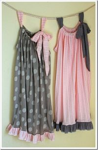 pillowcase nightgowns- to die for darling!