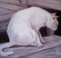 PEARL, an oil painting by Linda Snider Ward