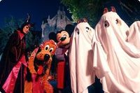 halloween party at disney