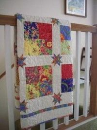 Floating Stars Quilt