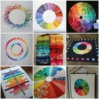 color wheel quilts