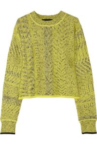 Alexander Wang, cropped sweater