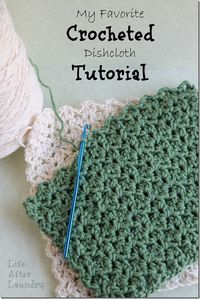 crochet dishcloth using this pattern http://www.crochetnmore.com/dishcloth.htm