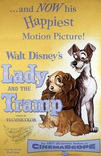 "15. ""Lady and the Tramp"" (1955)"