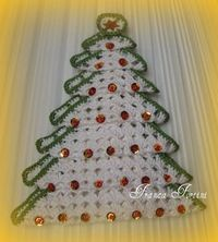 Crocheted Tree