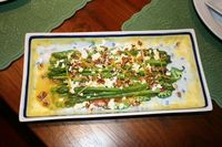Asparagus Salad on http://www.angiessouthernkitchen.com