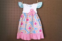 Lila Tank Dress for Toddlers and Girls. $34.00, via Etsy.