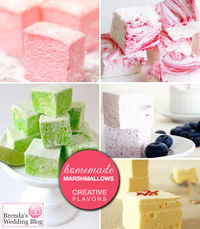 Dress up your Hot Chocolate with Creative Marshmallow Flavors By Brendas Wedding Blog