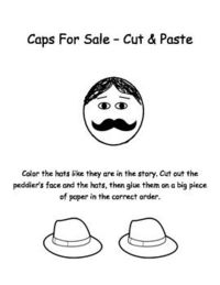 Caps for Sale coloring page | Free Printable Coloring Pages