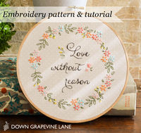 Good Idea - Embroidery pattern