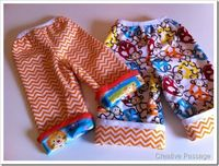 baby pajama pants diy by creative passage