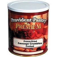 Provident Pantry® Freeze Dried Sausage Crumbles, Cooked - 34 oz