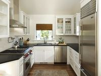 Los Angeles Area Homes contemporary kitchen