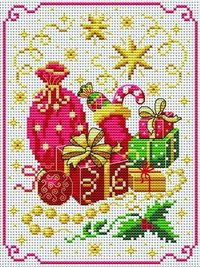 So Many Presents. Tons of FREE CROSS-SITCH PATTERNS at this site: just found a site that has really easy to download embroidery patterns for free. It's http://cross-stitchers-club.com/?code avantage=uucqid Plus, if you click on this link, http://cross...