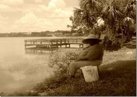 fishing1sepia thumb Gallery 12 {I Went for a Walk & This is What I Found} in Color and B