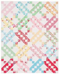 Three Steps Forward quilt from the book Large-Block Quilts