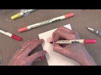 Jennifer McGuire-Distress Marker Watercolor Tutorial