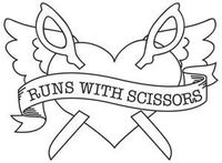 Runs With Scissors | Urban Threads: Unique and Awesome Embroidery Designs