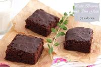 Brownie with Own Glaze - Low Calorie {Giveaway Closed}