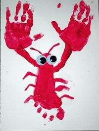 Hand and Foot Print Lobster