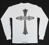 Bigbang White Chrome Hearts Double Cross T-shirt Sale