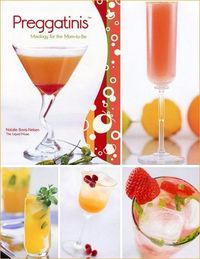 Non-alcoholic Preggatinis for the Mom to be. Very cute!