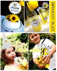 Bumble bee theme.