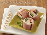 Here is a delicious low carb recipe that both adults and kids will love these holidays. Ham & Basil Pinwheels. I'll use reduced-fat cream cheese & 2% provolone to cut the fat as well!