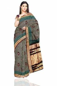 This new trendy designer sari has been introduced to retain the expectations of traditional printed sari.