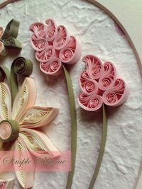 quilled flowers #quilling