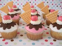Icecream cupcakes!