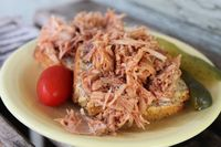 #paleo pulled pork BBQ sandwiches