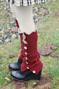 legwarmers6 by piecesofVe, via Flickr