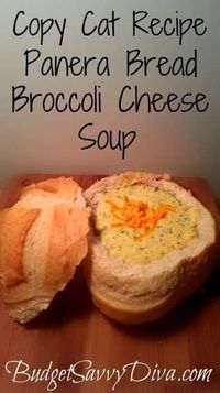PANERA BROCCOLI CHEESE SOUP COPY CAT RECIPE