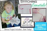 FREE introduction to the art of stitchery