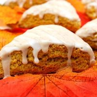 Sweet Pea's Kitchen » Pumpkin Scones - perfect for next week!