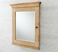 Mason Reclaimed Wood Recessed Medicine Cabinet #potterybarn