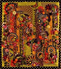 Image detail for -Fiber Fantasies » art quilts embellished with buttons and beads